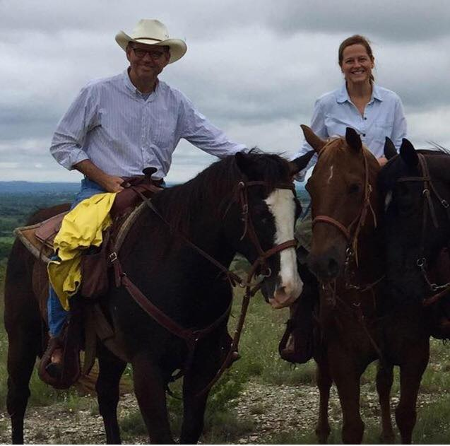 horseback riding in texas hill country